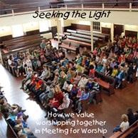 Quaker worship service